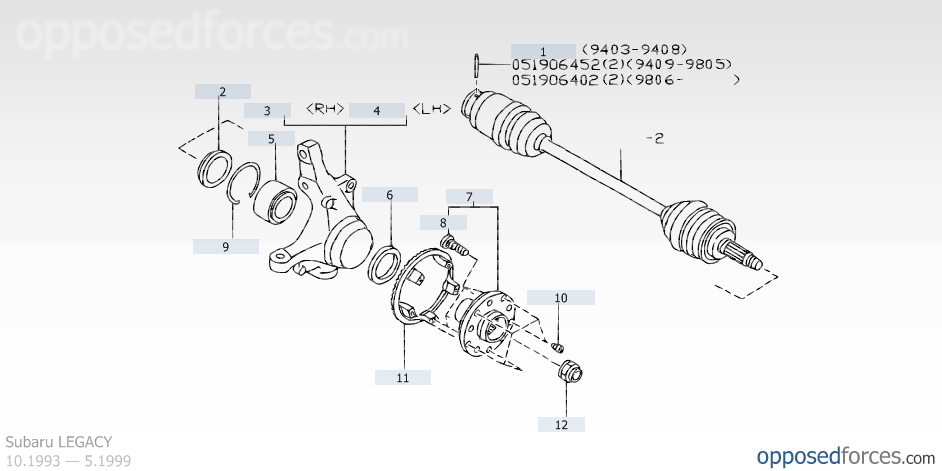 Brilliant Subaru Rear Axle Diagram Basic Electronics Wiring Diagram Wiring 101 Orsalhahutechinfo