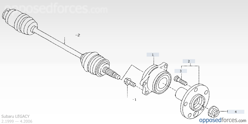 subaru diagram carrier bearing  subaru  free engine image