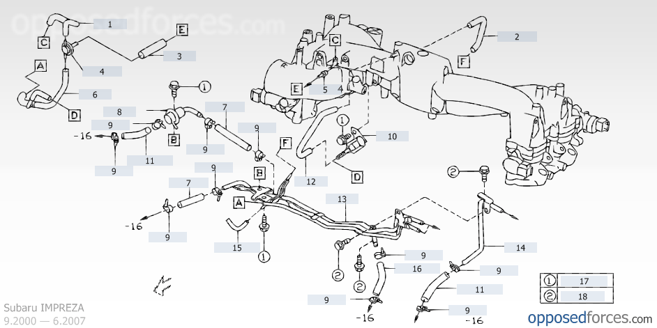 subaru ej25 engine diagram subaru wiring diagrams