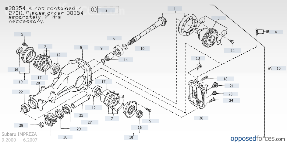 Prime Rear Differential Leaking On An 2006 Sti Nasioc Wiring Database Hyediarchgelartorg
