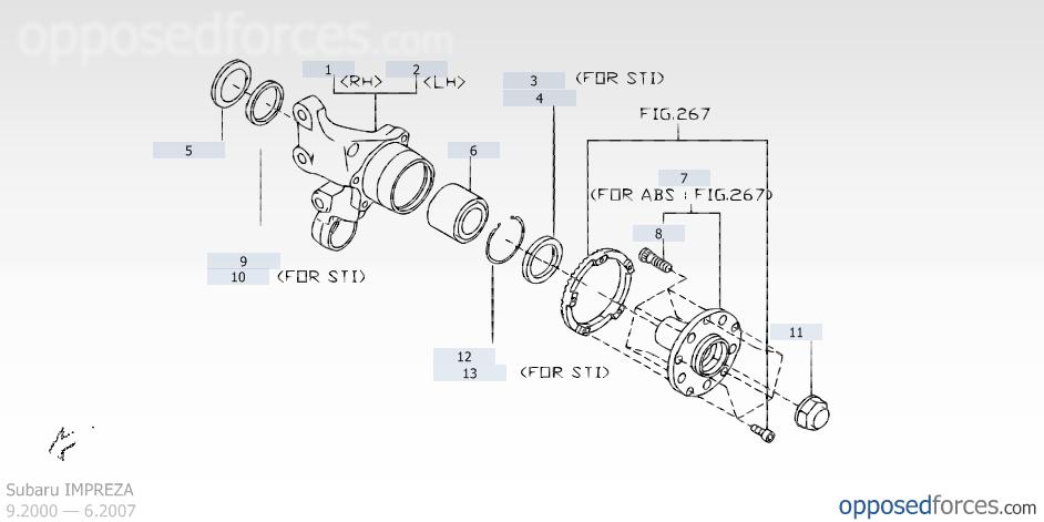 DIY 4th Gen Legacy Rear Wheel Bearing Replacement Walkthrough