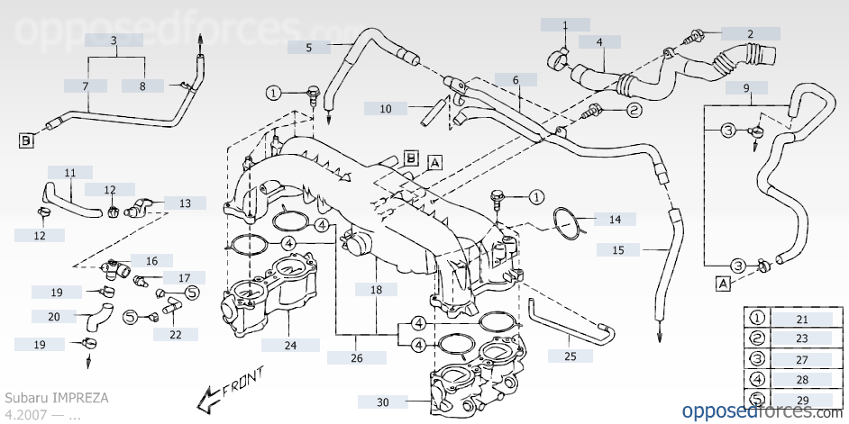 Subaru Sti Intake Manifold Diagram - Appghsr.co.uk •