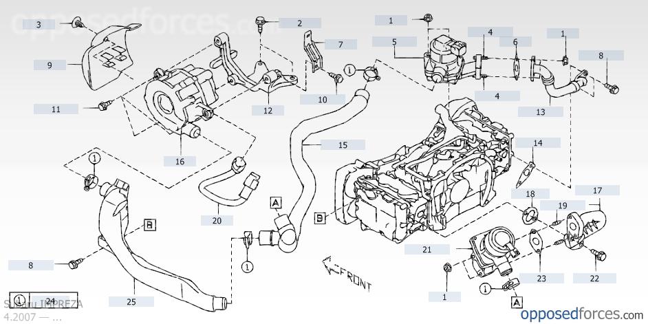 06 Wrx Air Pump Removal