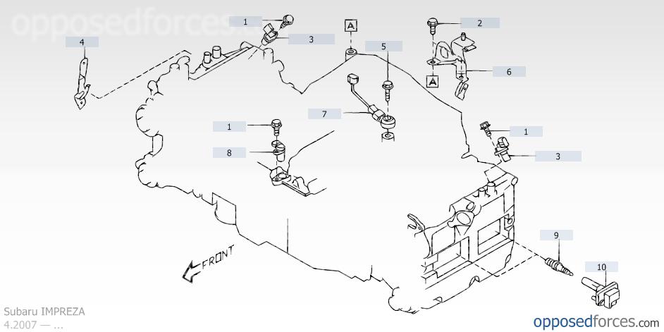 Help: 2009 WRX CEL P0345 Camshaft Position Sensor A