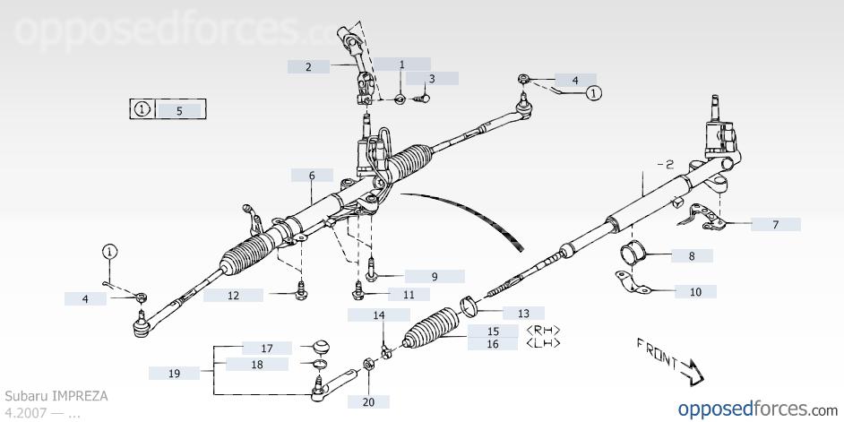 09 13 Sti Steering Rack Fitment Subaru Forester