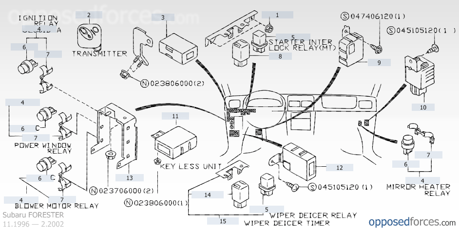 1997 Subaru Outback Turn Signal Wiring Diagram wiring diagrams
