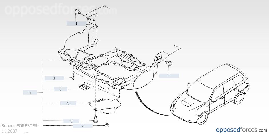 2007 forester engine diagram  engine  auto parts catalog