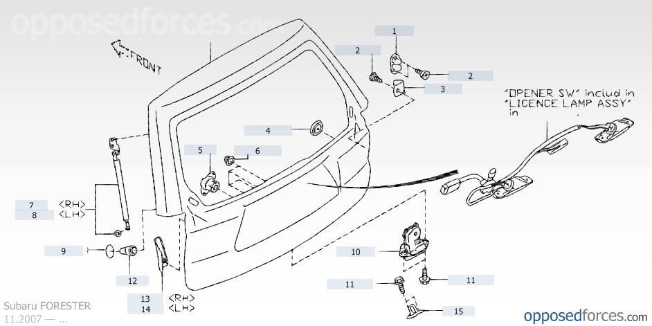 U0026 39 09- U0026 39 13  Rear Hatch Latch And Lock Problem