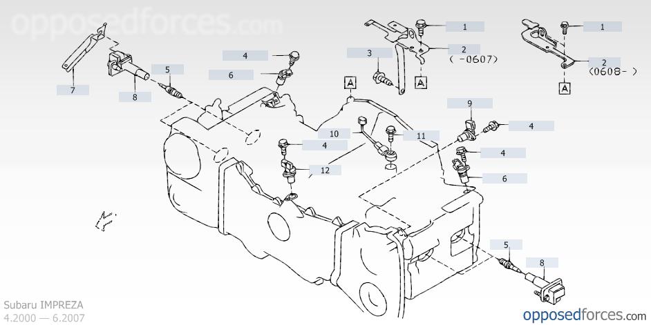 Subaru Camshaft Position Sensor Location Nemetas Aufgegabelt Info