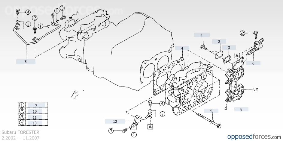 Avcs or not Subaru Forester Owners Forum – Diagram Of An Engine Ej205
