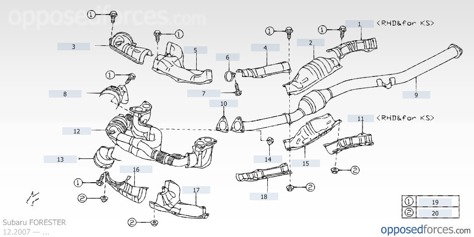 2009 forester cylinder misfires and catalytic converter problems - subaru  forester owners forum
